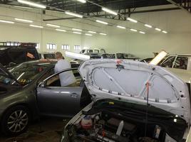 Hagelprofis der Hail Company GmbH bei der Hagelschaden Reparatur